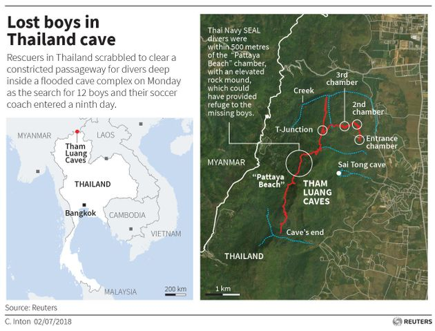 Thailand Cave Rescue: Missing Boys Found Alive After Nine
