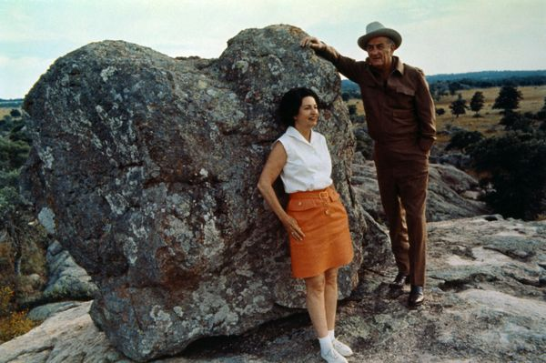 Lady Bird Johnson (shown here with husband Lyndon) is perhaps one of the most underrated first ladies, specifically when it c