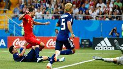 벨기에가 0-2를 3-2로 뒤집으며 일본을