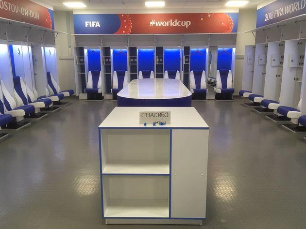 일본 축구 대표팀의 라커룸은 아시안컵에서도 화제가