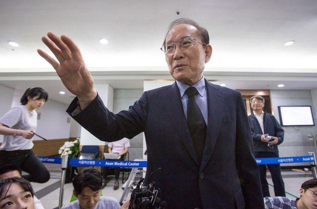 자유한국당의 러브콜에 이회창이