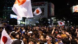 '일본-콜롬비아전' 거리응원에서 성추행 당한 여성이 경찰에게 들은