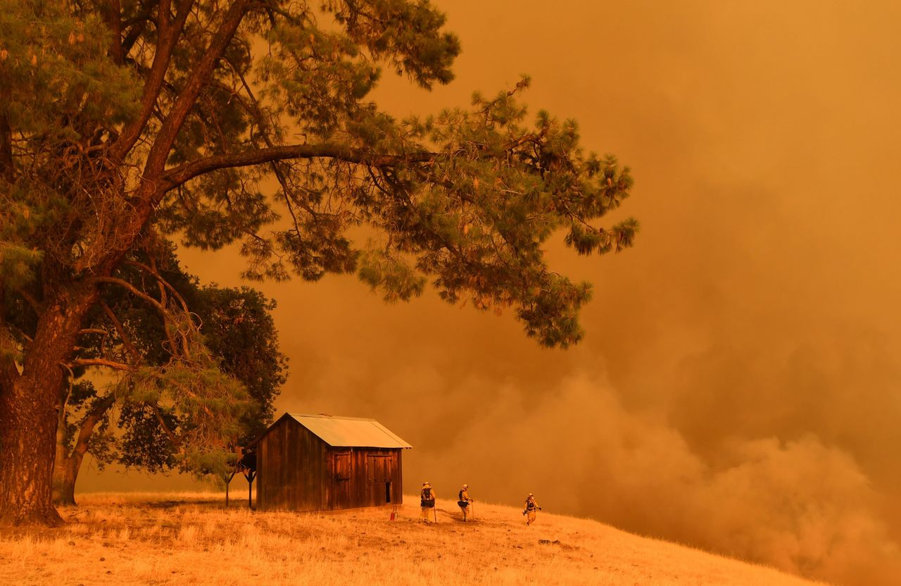 The County Fire has burned more than 60,000 acres since Saturday.