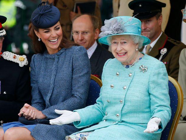 Herzogin Kate und Queen Elizabeth II. haben offensichtlich