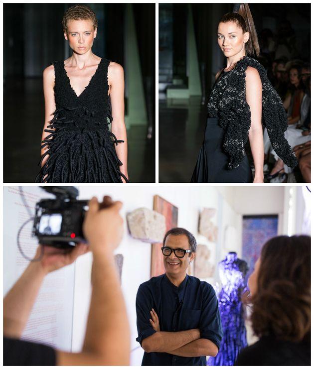 Noureddine Amir, premier Marocain à présenter un défilé Haute couture à la Fashion week