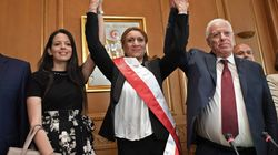 Les premières déclarations de Souad Abderrahim, première femme élue à la tête de la municipalité de
