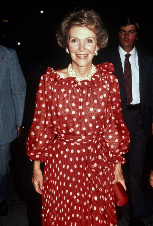 Reaganwas a Hollywood actress before she becamefirst lady. It makes sense, then, that she was a little more adven