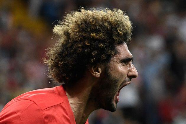 Les Lions de l'Atlas sont éliminés? Marouane Fellaini prend le relais. Le belgo-marocain...