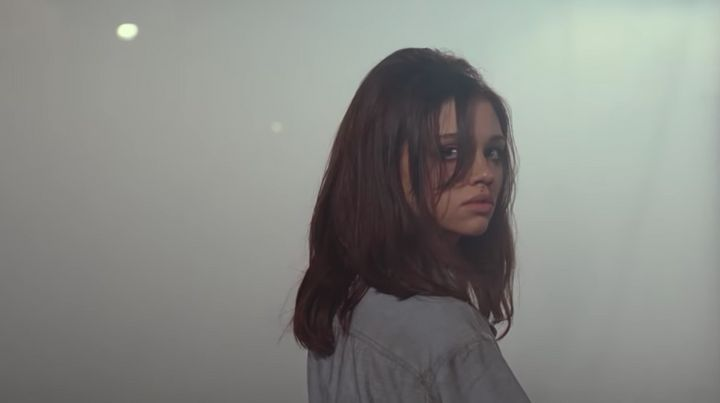 "India Eisley as Fauna Hodel in ""I Am the Night."""