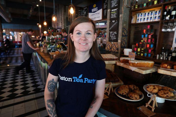 Hannah Brown, head barista at Boston Tea Party, Birmingham