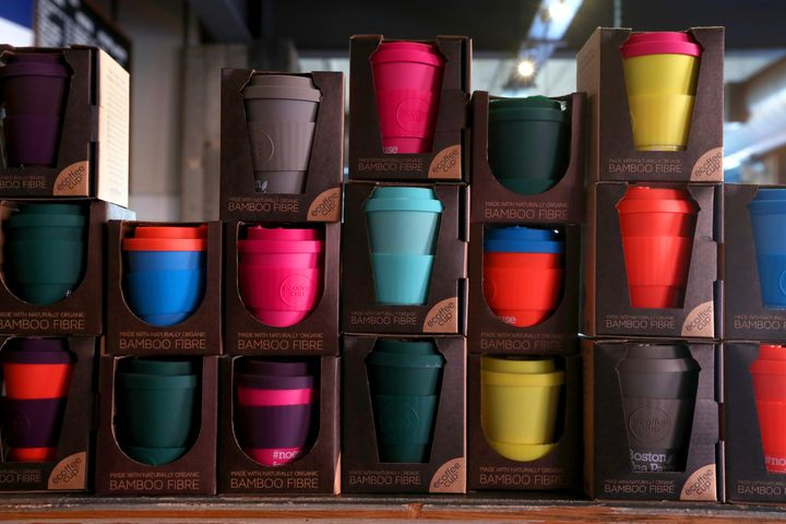 The company believes it has saved more than 17,000 disposable cups