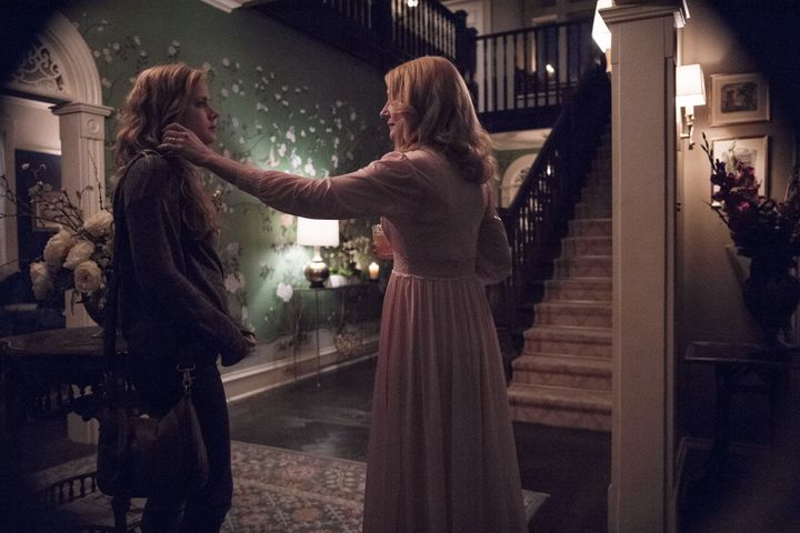 "Amy Adams and Patricia Clarkson in ""Sharp Objects."""