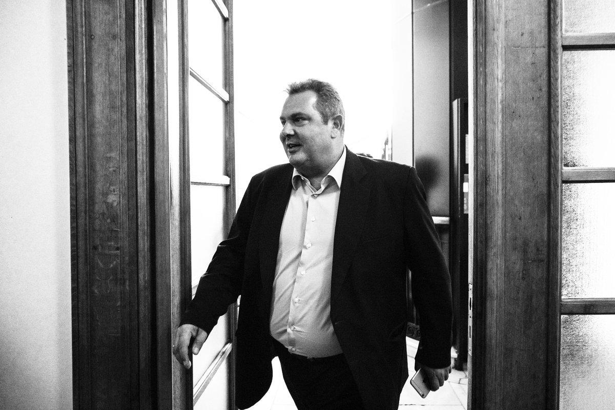 Καμμένος: Στηρίζω τον Αλέξη Τσίπρα και την κυβέρνηση μέχρι