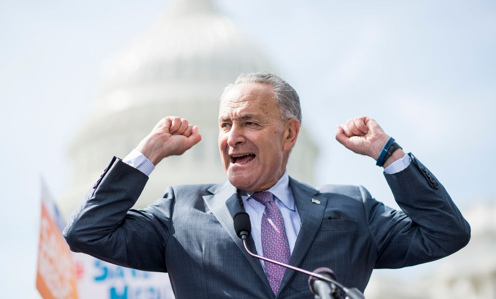 Senate Minority Leader Chuck Schumer (D-N.Y.) and other Democrats have been stressing health care as a central issue in the 2