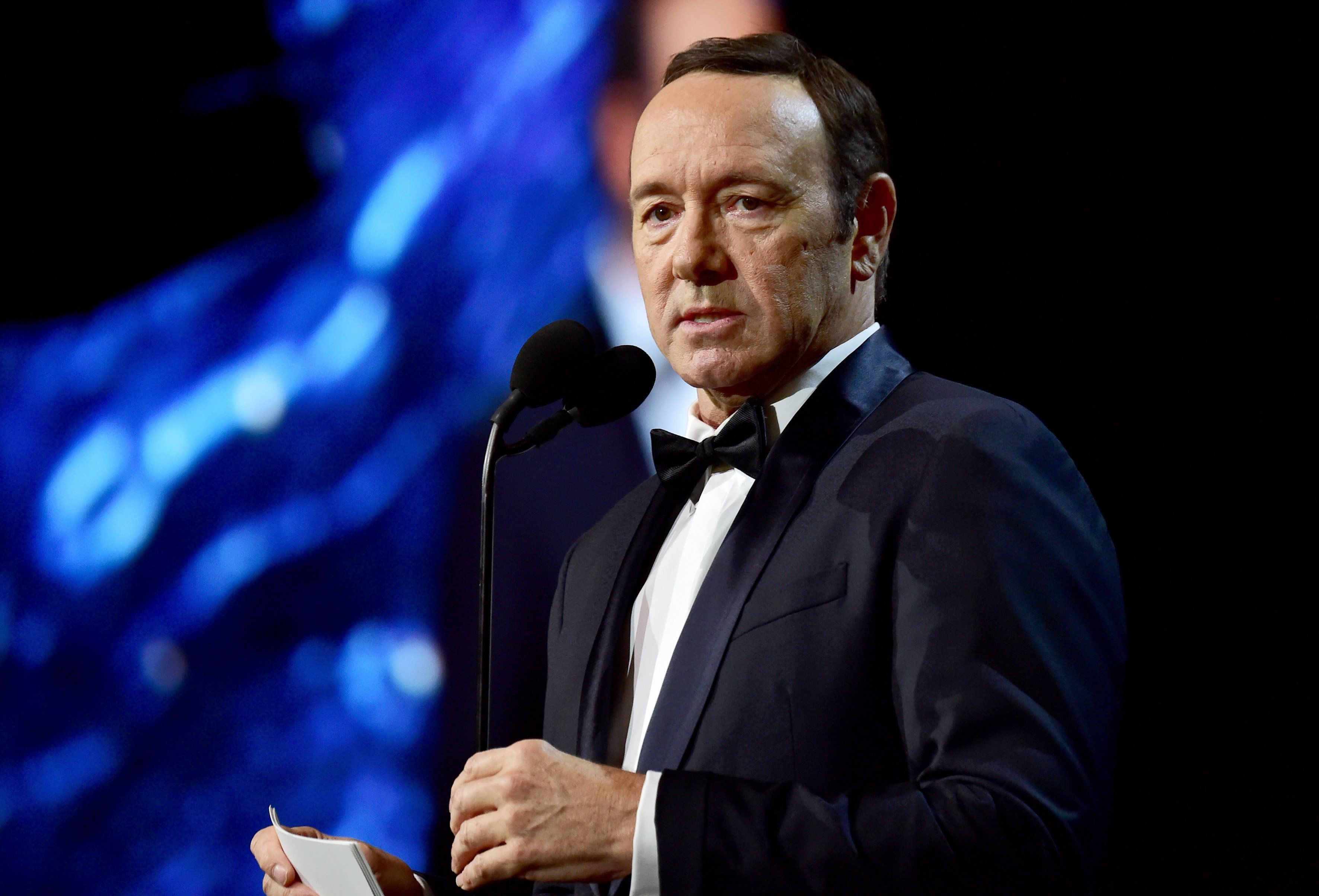 Kevin Spacey, here at a Beverly Hills award ceremony last October, is facing accusations from three more men who claim they w