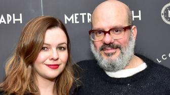 NEW YORK, NY - MARCH 22:  Amber Tamblyn and David Cross attend Metrograph 2nd Anniversary Party at Metrograph on March 22, 2018 in New York City.  (Photo by Sean Zanni/Patrick McMullan via Getty Images)