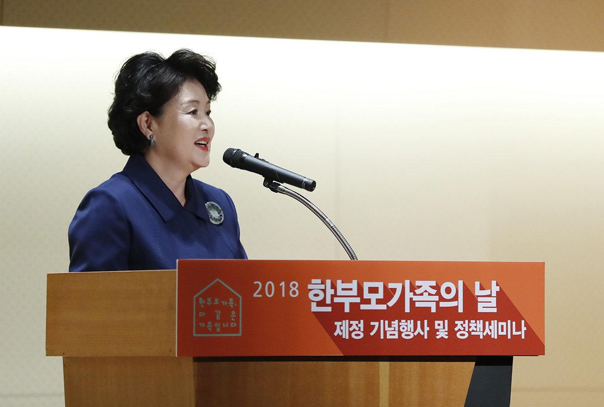 김정숙 여사가 오찬에서 '효리네 민박'을 언급한