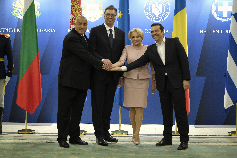 Ασφάλεια, προσφυγικό και ενέργεια στην ατζέντα της τετραμερούς Ελλάδας-Βουλγαρίας-Ρουμανίας-Σερβίας στη