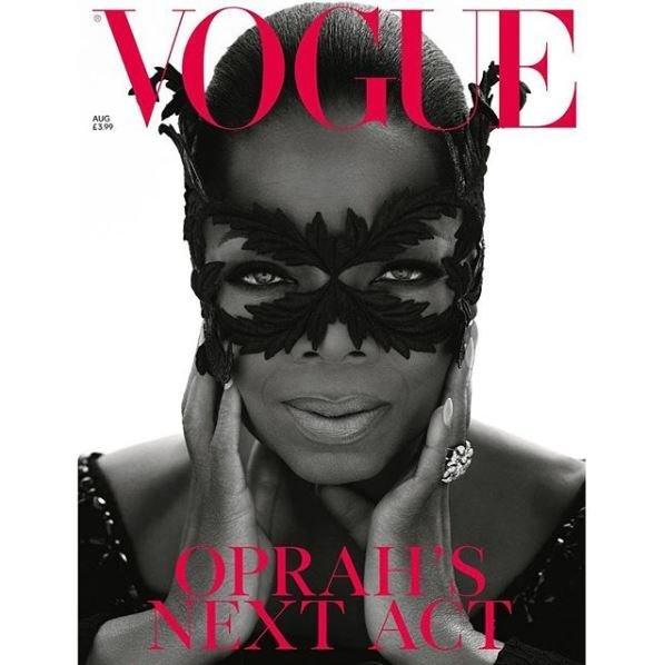 Η Oprah Winfrey στο εξώφυλλο Αυγούστου της βρετανικής