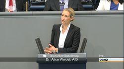 Weidel eröffnet Debatte im Bundestag – und wird nach dem ersten Satz