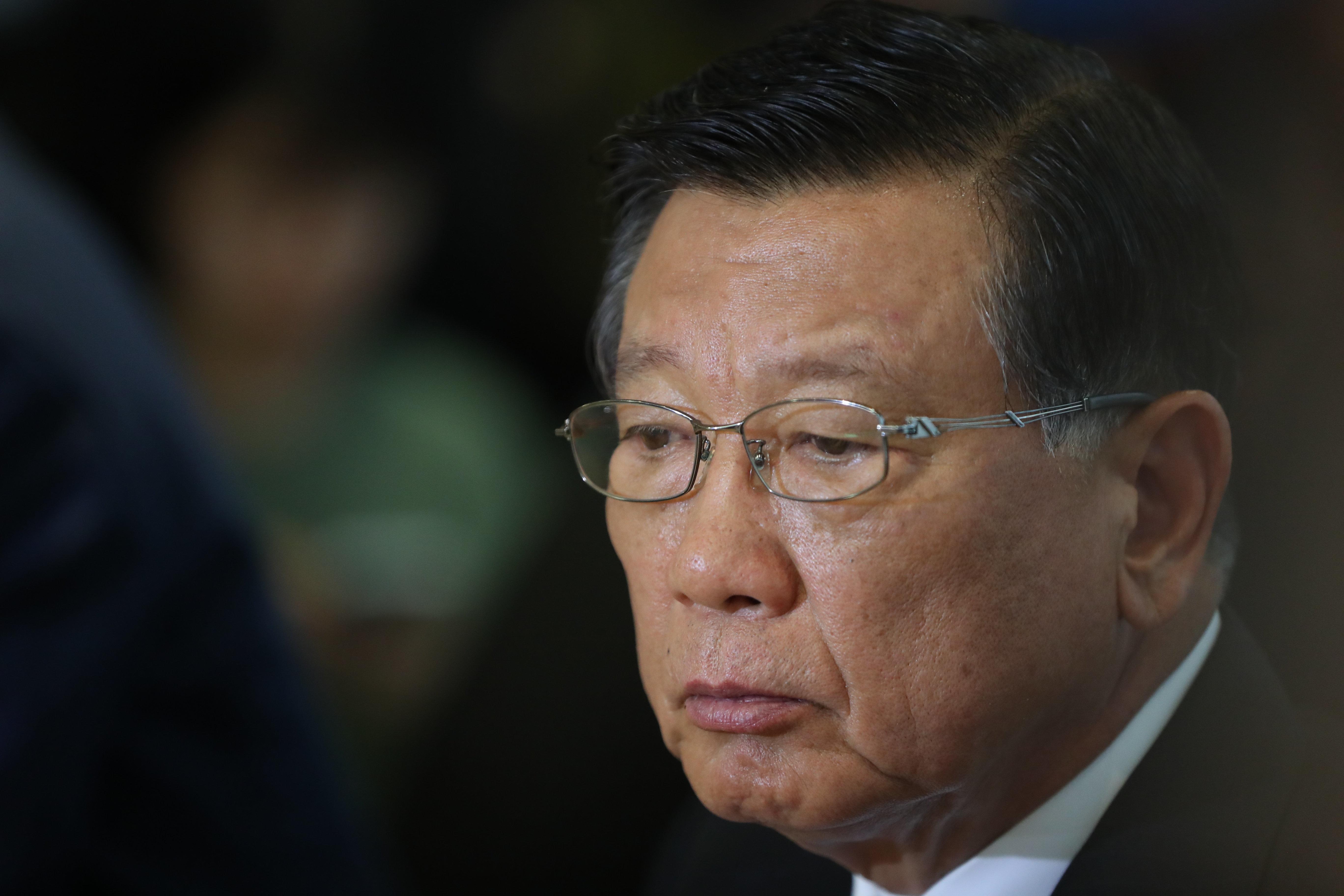 박삼구 아시아나항공 회장이 '기내식 대란'을