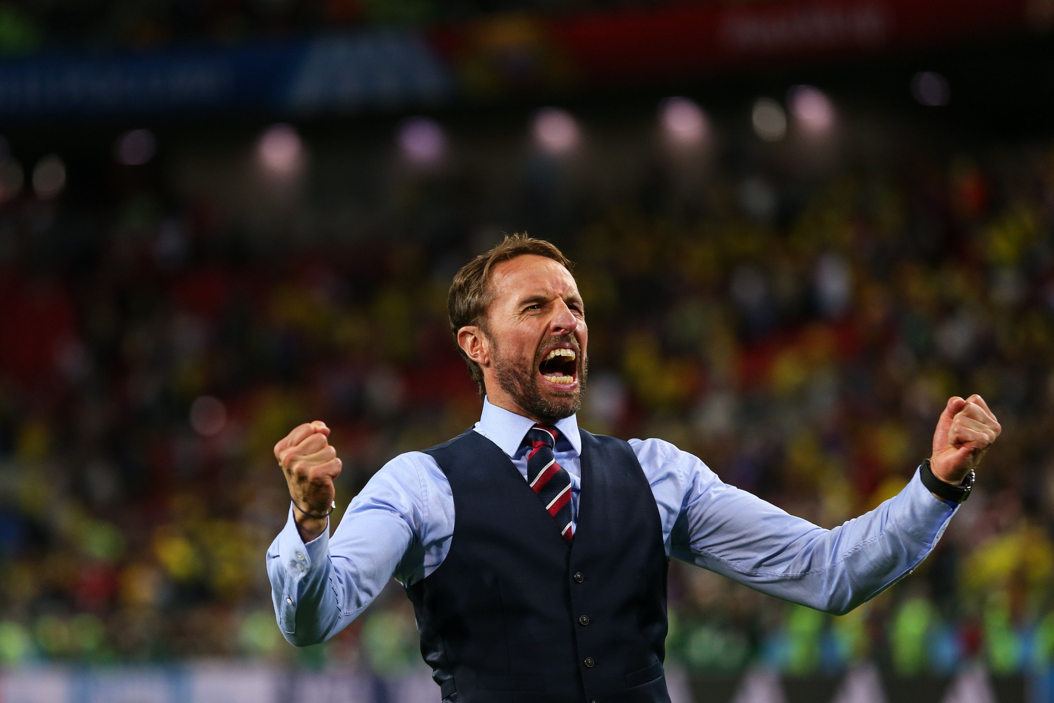 Looks We Love: Gareth Southgate's M&S Waistcoat At The World