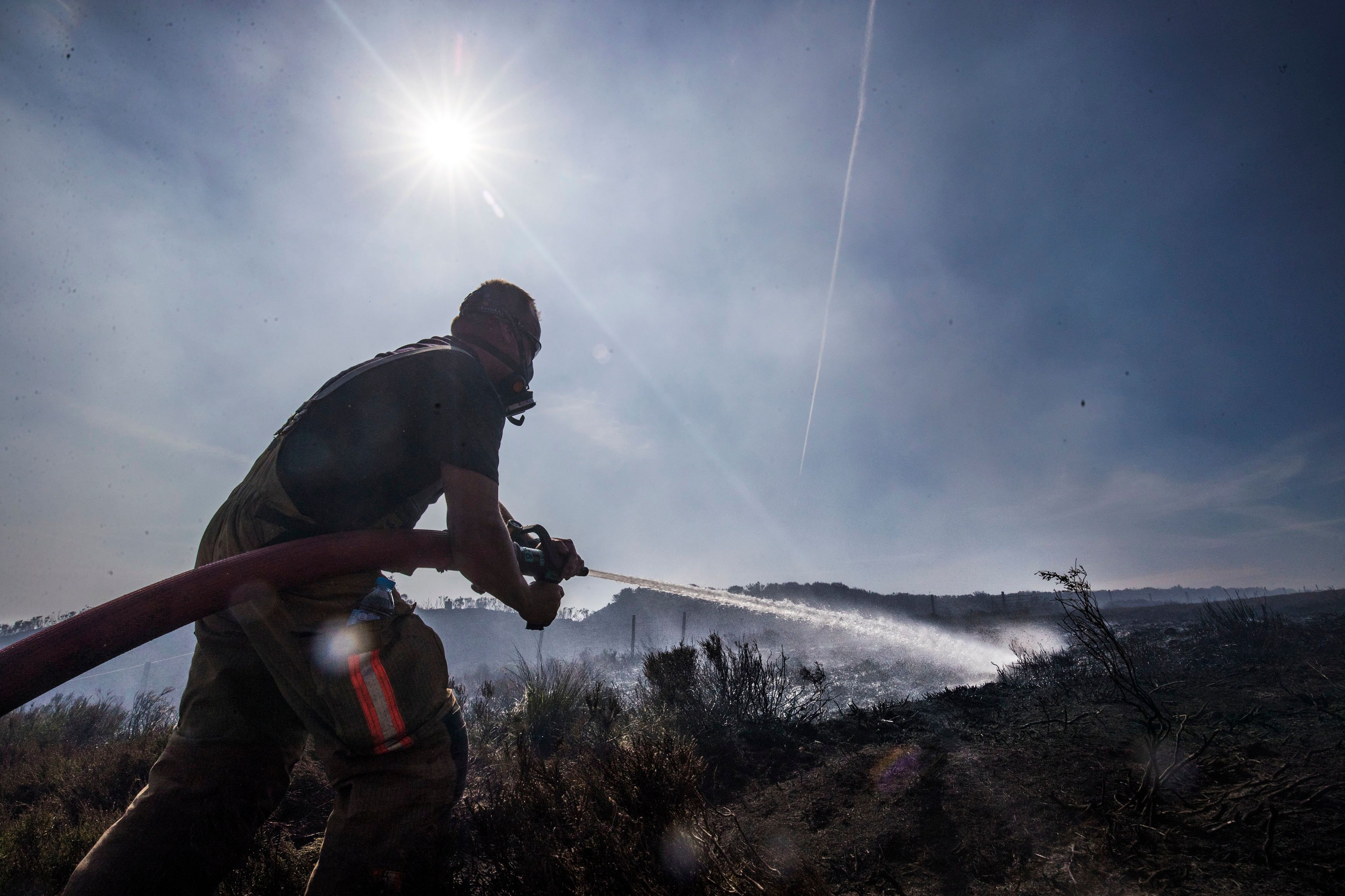 Saddleworth Moor Fire Being Treated As Arson, Police