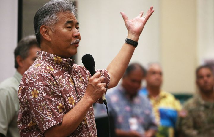 """Hawaii's Gov. David Ige said during a bill signing ceremony, """"We are blessed in Hawaii to be home of some of the most beautiful natural resources on the planet, but our natural environment is fragile."""""""
