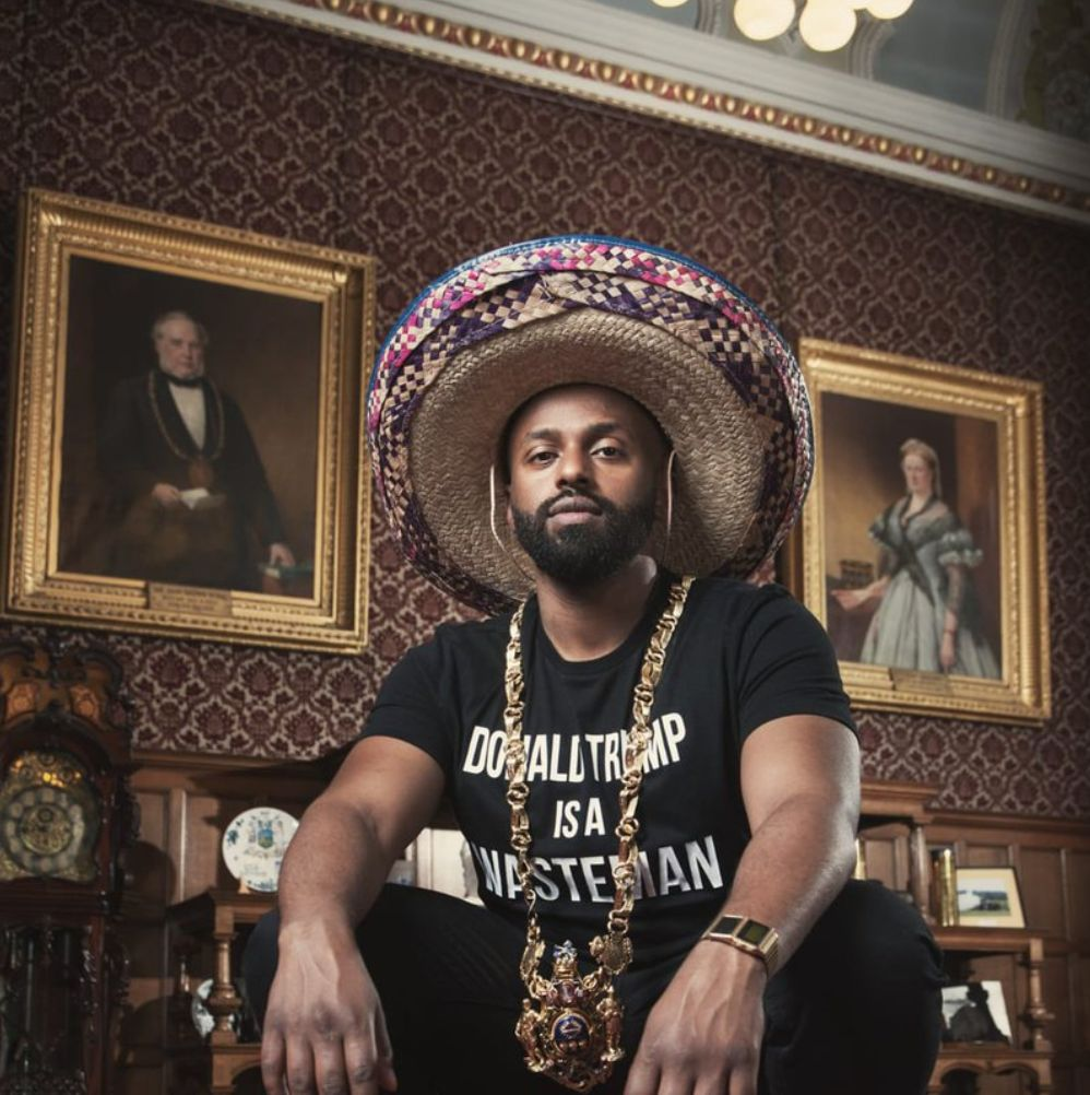 Sheffield Lord Mayor Magid Magid