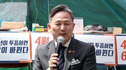 덕수궁 대한문 앞 분향소를 찾은 표창원·박주민 의원에게 벌어진