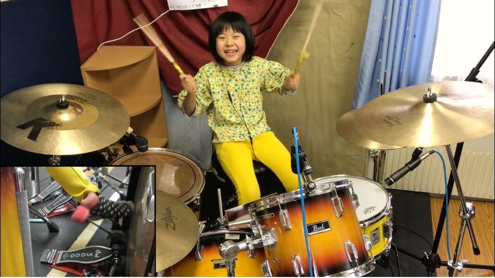 레드 제플린의 로버트 플랜트를 놀라게 한 8살 소녀의 드럼
