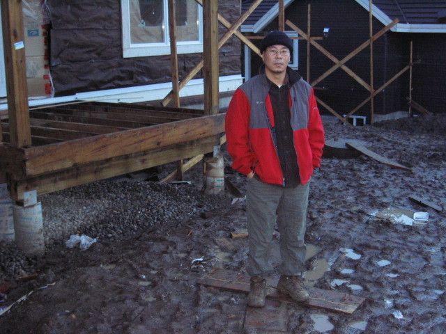 2005년 두번째로 일했던 건축 현장