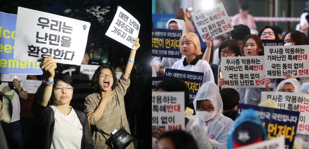 예멘 난민 반대 여론은 20대, 여성, 서울에서 제일
