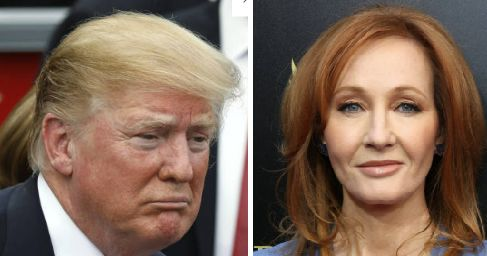 'pore'와 'pour'를 구별 못한 트럼프에 대한 J.K 롤링의 반응이 더
