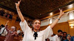 튀니지 수도에서 최초의 여성 시장이