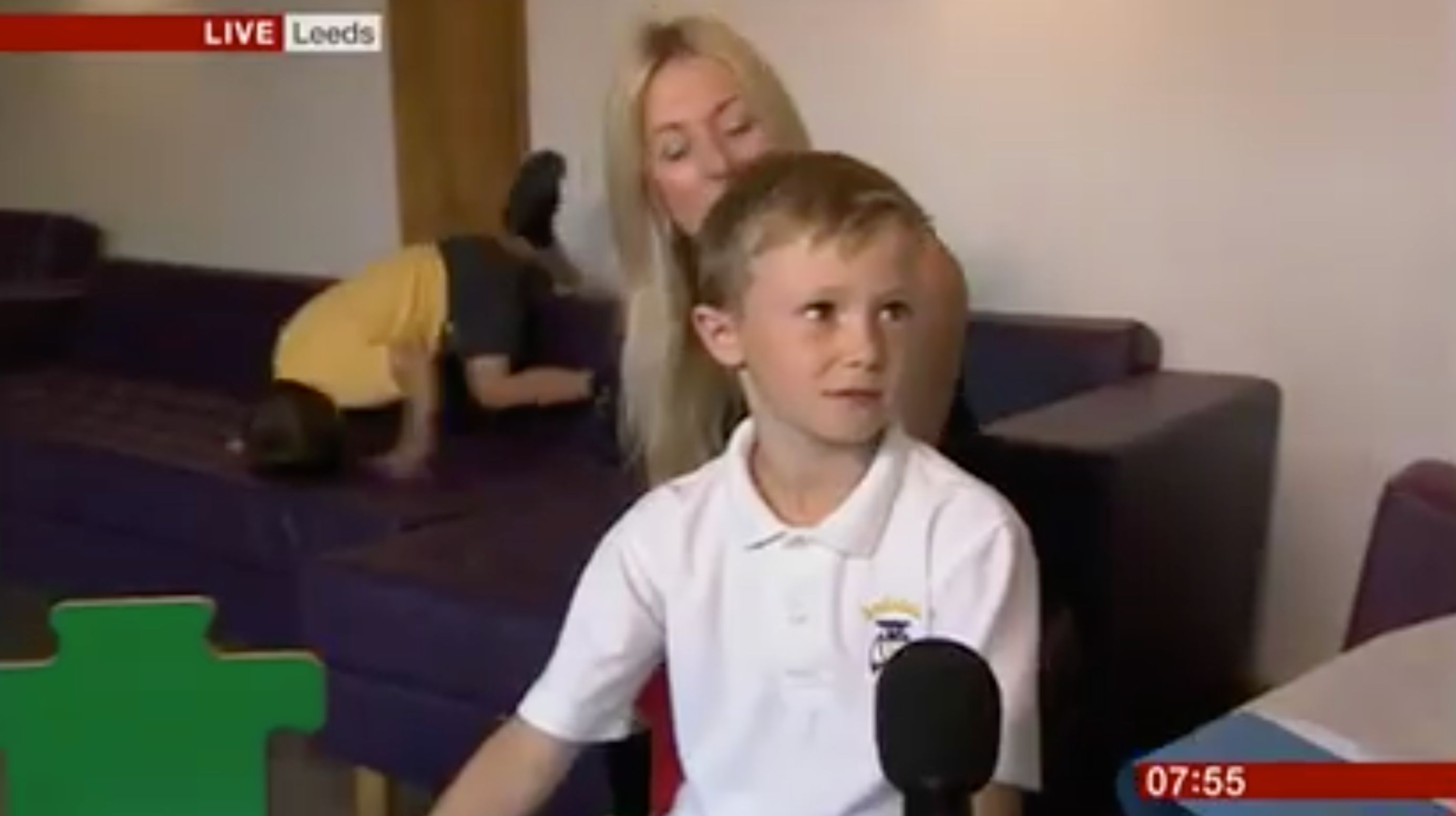Every Parent Can Relate To This 5-Year-Old Refusing To Play Ball On BBC
