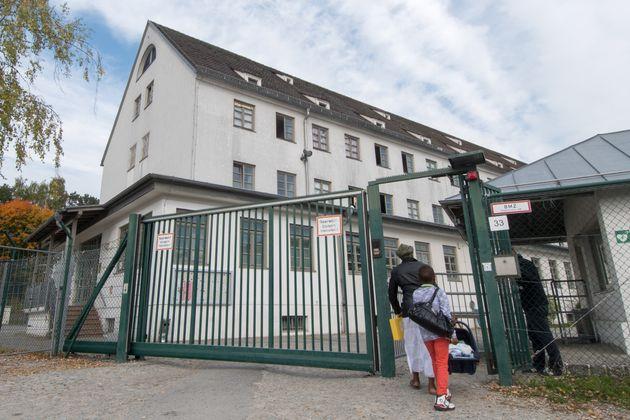 Die Erstaufnahmeunterkunft für Asylbewerber in