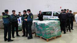 Près de 500 kilos de cocaïne saisis à Algésiras, 21 personnes