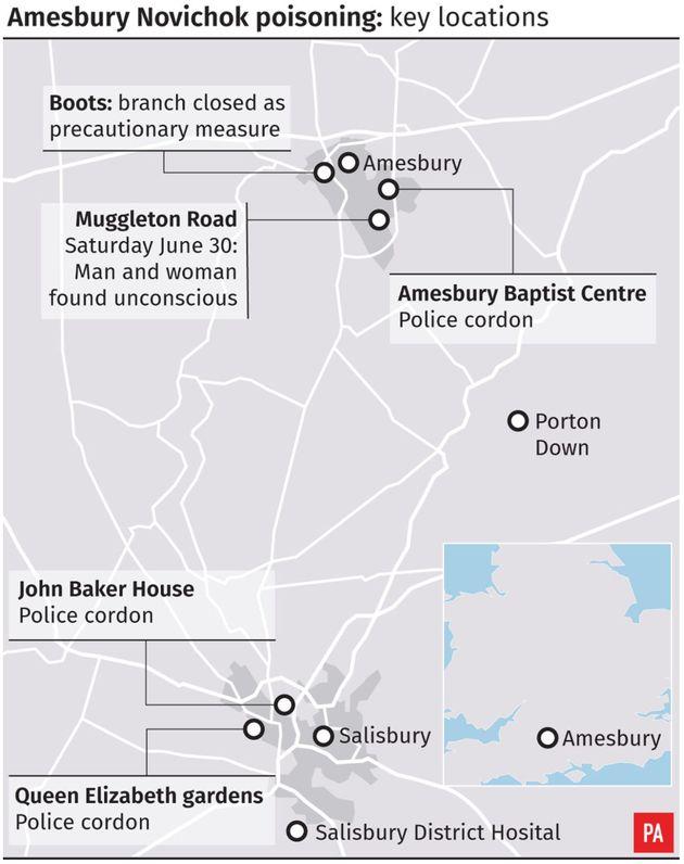Amesbury Novichok Poisoning: Couple Poisoned By Novichok Fell Ill After Handling Contaminated