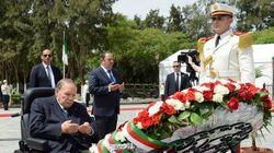 Le président Bouteflika se recueille à la mémoire des martyrs de la Révolution au cimetière d'El