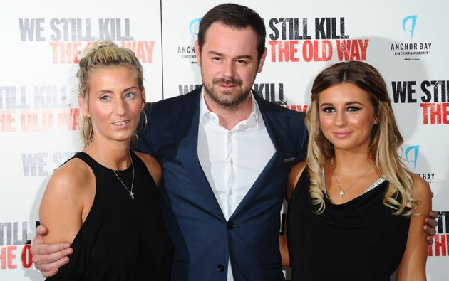The Dyer/Mas family at a photocall in