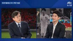 기성용이 JTBC '뉴스룸'에서 은퇴에 대한 생각을
