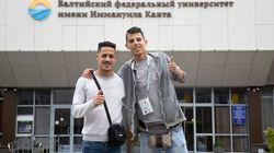 Deux supporters marocains profitent du Mondial en Russie pour rester faire leurs études à