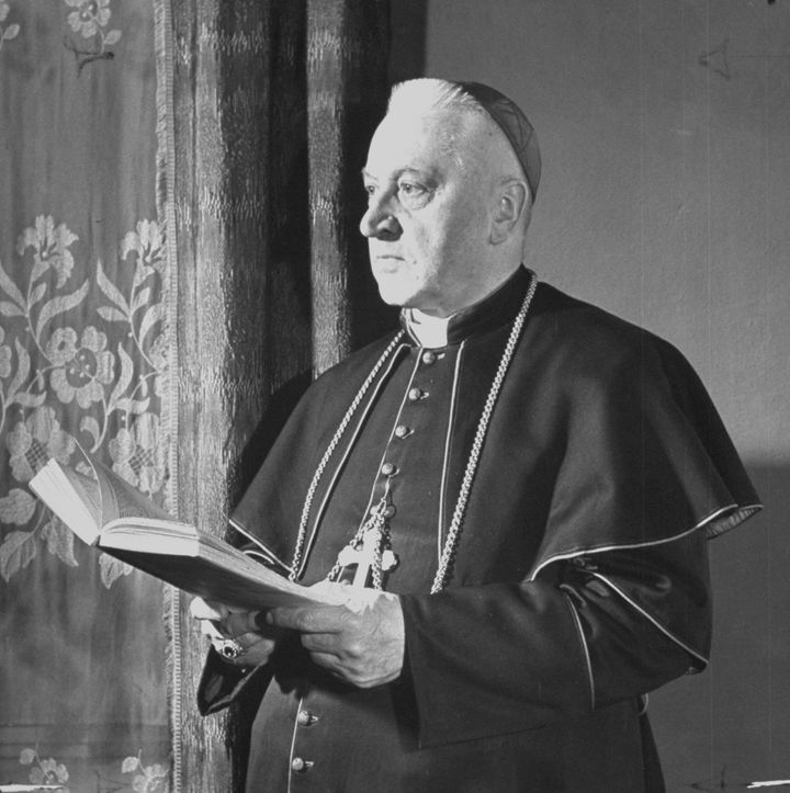 Polish Cardinal August Hlond was a top-ranking Catholic official during World War II.
