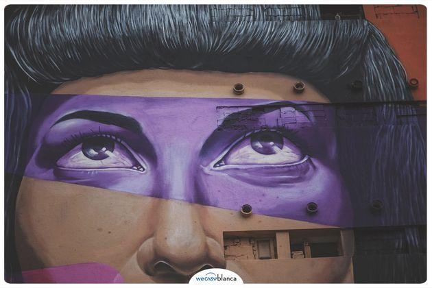 Fresque réalisée par l'artiste