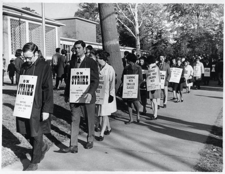 Hartford teachers strike, 1968.