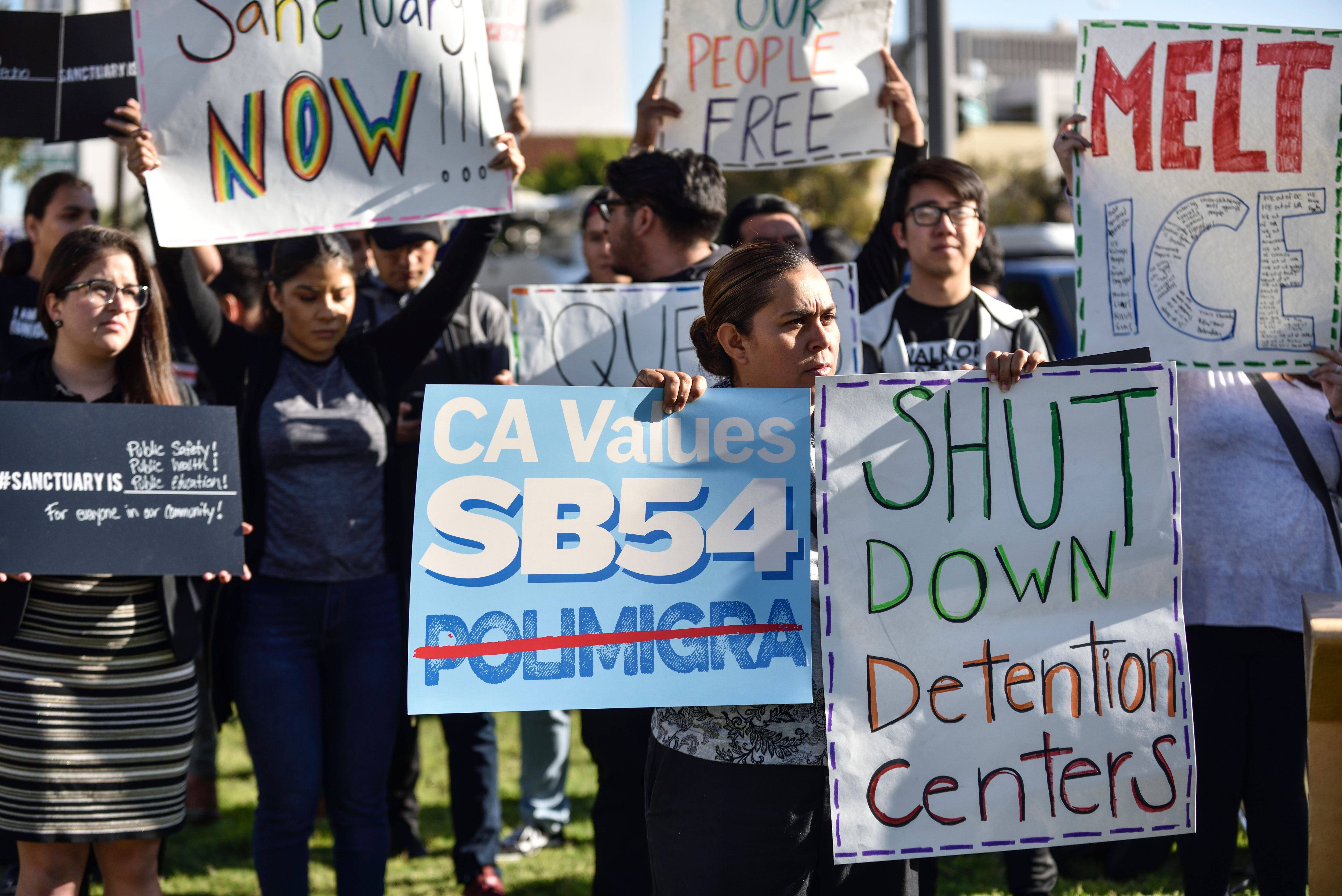U.S. District Court Judge John Mendez upheld two of California's sanctuary laws, as well as a key provision of a third,