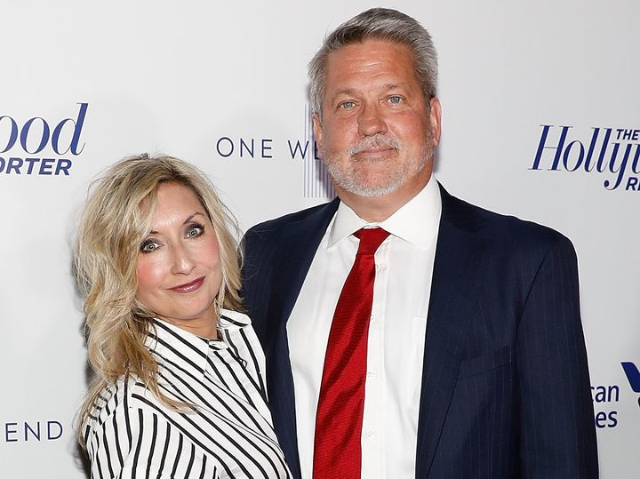 Darla and Bill Shine in New York City on April 13, 2017.