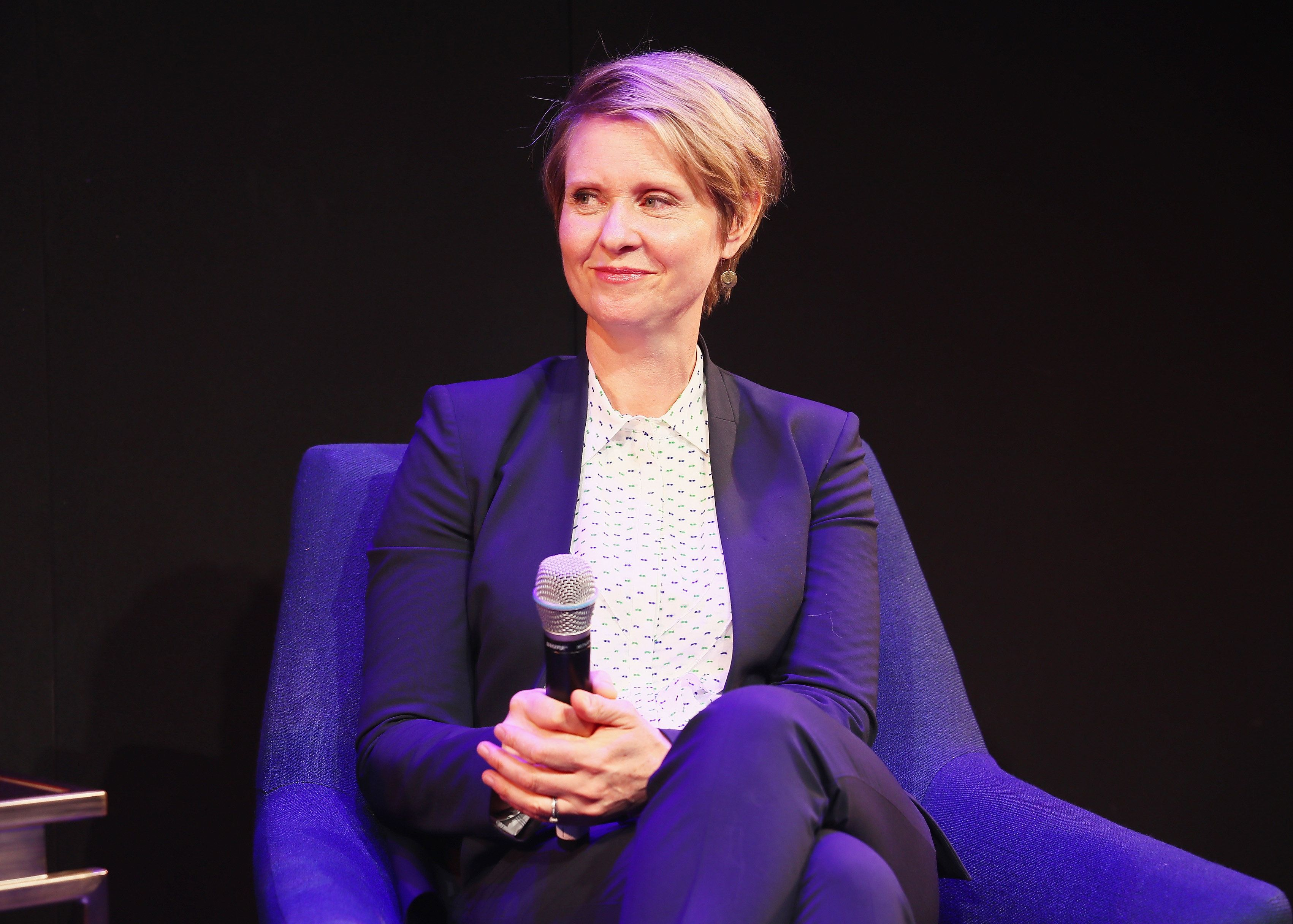 Cynthia Nixon, an actress and education activist, is challenging New York Gov. Andrew Cuomo from the left.