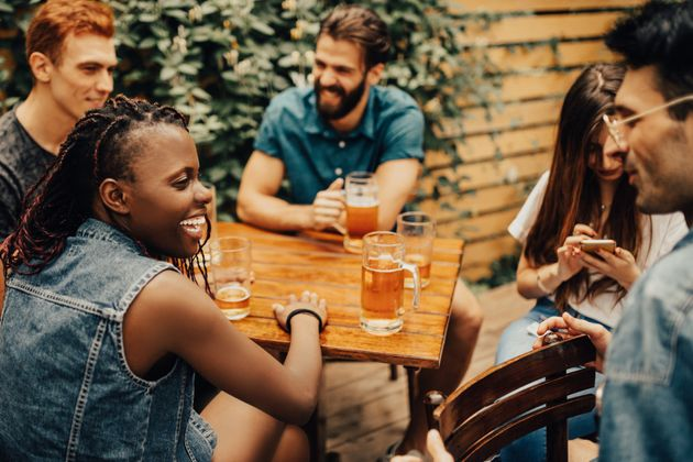 If you open yourself up to it, small talk can be legitimately